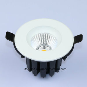 Commercial LED Downlight Rating IP33 Recessed COB Down Light 12W pictures & photos