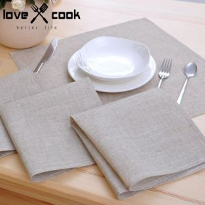 50X50cm Linen Napkins for Hotel Restaurant Linens (DPF10793) pictures & photos