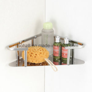 Stainless Steel 304 Bathroom Storage Basket for Bathroom Accssory (6601) pictures & photos