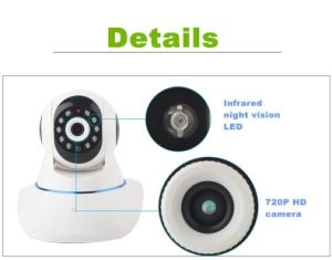 Home Security Wireless WiFi IP Camera with Microphone, Audio, TF Card Slot pictures & photos