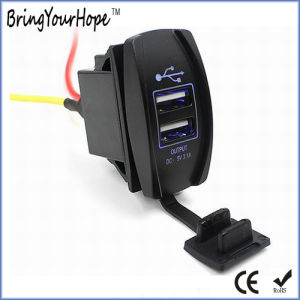 Motorcycle Use Dual USB Charger (XH-UC-024) pictures & photos