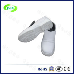 PU Material White ESD Safety Anti-Static Shoes pictures & photos