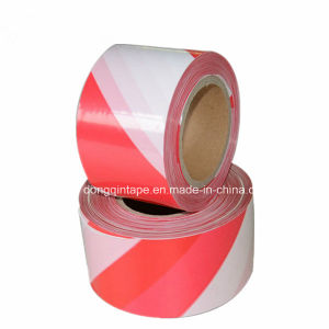 Non Glue Warning Tape with PE Backing Offer Logo Print