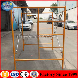 Construction Mobile Platform Steel H Frame Scaffolding pictures & photos