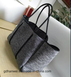 Marle Grey Perforated Neoprene Tote Bag pictures & photos