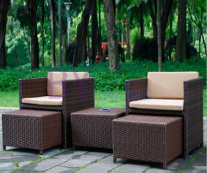 PE Rattan Home Furniture Dining Set pictures & photos