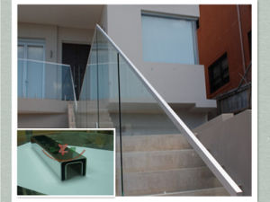 Stainless Steel Verandah Railing with Glass pictures & photos