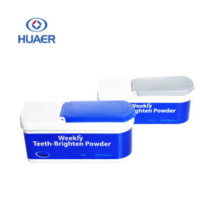 Private Label Mint Flavor Teeth Whitening Powder Tooth Brightening Powder pictures & photos