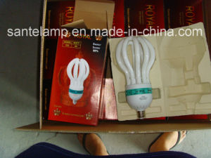 125W 150W Lotus 3000h/6000h/8000h 2700k-7500k E27/B22 220-240V Energy Saving Light Bulb pictures & photos
