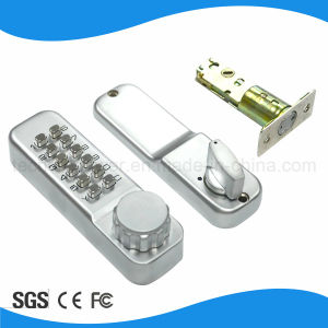 No Battary Keypad Mechanical Door Lock Password Code Lock pictures & photos