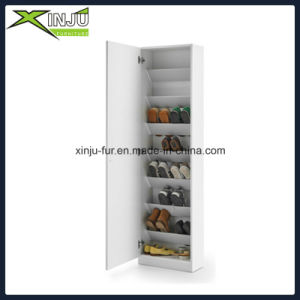 Home Living Furniture 2 Drawer Shoe Cabinet (with flip out door) pictures & photos