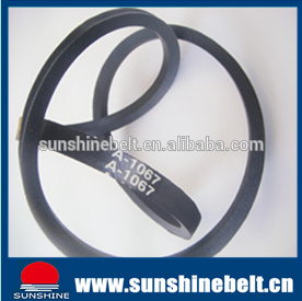 Classical Wrapped Rubber V Belt B100 pictures & photos