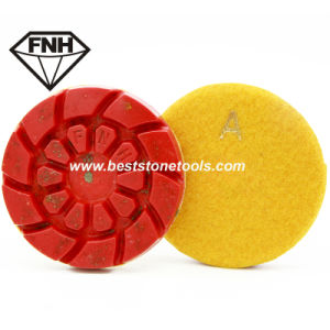 Cr-38 New Products Diamond Tool Concrete Polishing Pad with Metal pictures & photos