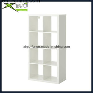 White Functional Wooden Cube Shelf (9 compartments) pictures & photos