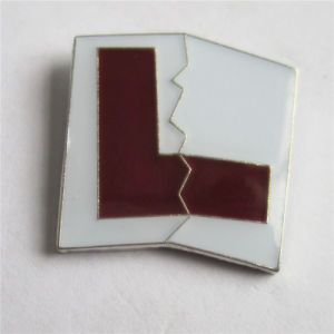 Hot Selling Red Letter Badge