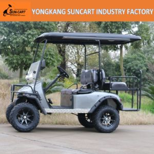 2+2 Seat Golf Car Export to North American, Customized Golf Car with Painted Wheels pictures & photos