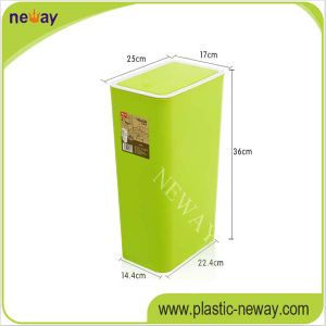 Home Use Trash Can with Push Cover pictures & photos