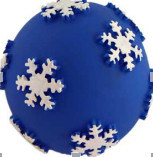 Christmas Ball Dog Toys with Snowflake pictures & photos