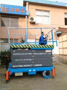 3-18m Mobile Semi Electric Mobile Platform Scissor Lift pictures & photos