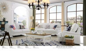 American Style Sofa for 1+2+3 Living Room Furniture pictures & photos