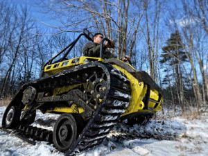 All Terrain Vehicle Track Extreme Offroad Trackd Chair Wheelchair Track pictures & photos