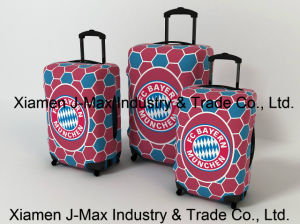 Spandex Travel Luggage Cover Fits 18-32 Inch Luggage, Washable, Comes in Various Printings, High Elastic, Trolley Cover, FC Bayern Munich pictures & photos