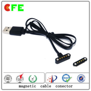 Waterproof Magnetic Connector with USB Cable pictures & photos