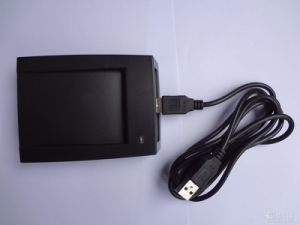 RS232 RFID Reader USB Interface Smart Card Reader Adjustable Output Format pictures & photos