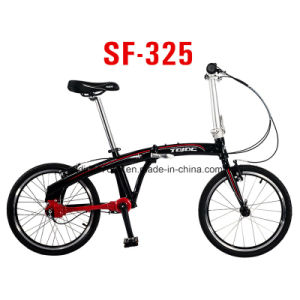 Lightweight 20′′ Mini Folding Bike, V Brake Shaft Drive Transmission Bicycle pictures & photos