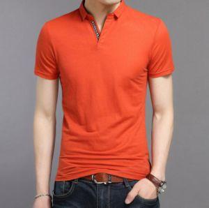 New Design 100% Cotton Men Classic Pique Polo Shirt pictures & photos