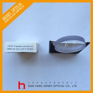 Semifinished 1.56 Short Corridor Progressive Optical Lens Hc pictures & photos