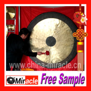 Chinese Brass Gong / Chao Gong / Chau Gong / Wind Gong 150cm pictures & photos