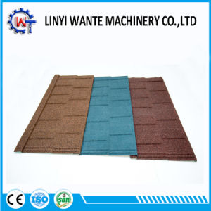 Wind Resistance Stone Coated Metal Shingle Roof Tile pictures & photos