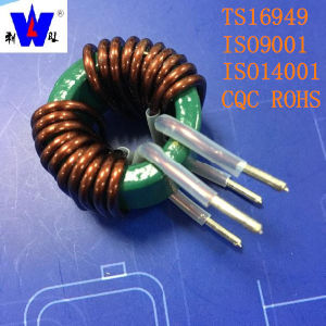 Big Current Toroidal Power Choke Inductor Coil with Ts16949 pictures & photos
