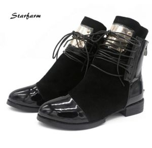 Women Big Size Safety Boots Shoes