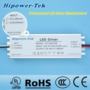 180-277VAC 40W Constant Current Traic Dimming Power Supply LED Driver pictures & photos