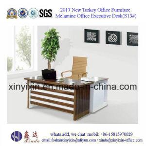 Turkish Design MFC Office Desk Wooden Furniture (S16#) pictures & photos