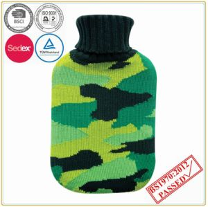 High Quality Hot Water Bottle with Knitted Cover pictures & photos