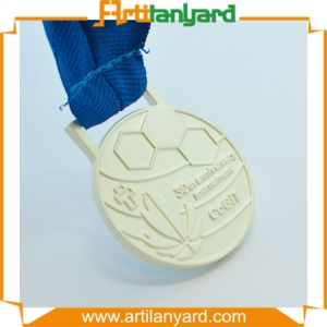 Customer Design Metal Medal with Customer Ribbon pictures & photos