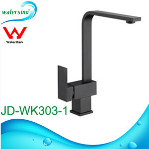 Brass Matte Black Kitchen Sink Mixer Tap Faucet with Watermark pictures & photos