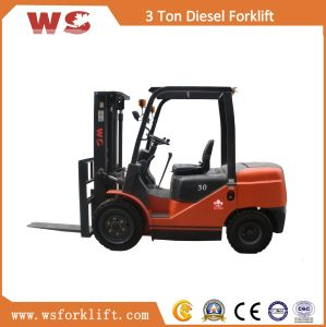 3.0t Lifting Height 3m Diesel Forklift Truck Cpcd30 pictures & photos