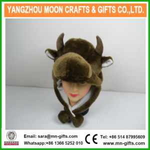 Custom Winter Plush Hat Animal Hat with Earflap pictures & photos