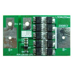 3.7V Li-ion Battery BMS, 1s 18650 Battery BMS/PCM 20A pictures & photos