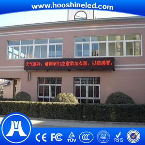 Convenient Installation Outdoor Single Red Color P10 SMD Electric Signs pictures & photos