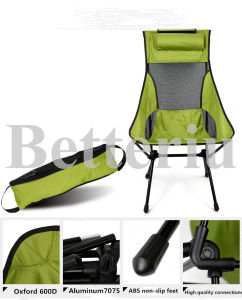 Ultralight Padded Folding Camping Chair Portable Chair for Picnic or Traveling pictures & photos