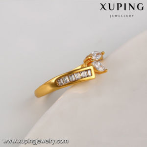 14113 New Arrival Fashion 24k Gold Bridal Set Jewelry Ring with Zircon pictures & photos