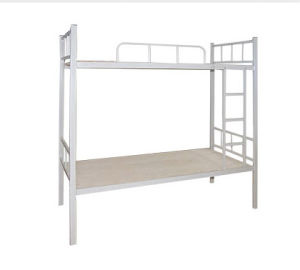 Modern Shool Furniture Steel Metal Bunk Dormitory Bed (HX-JY017) pictures & photos