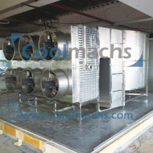 Double Spiral Machine Frozen Seafood Freezer for Meat pictures & photos