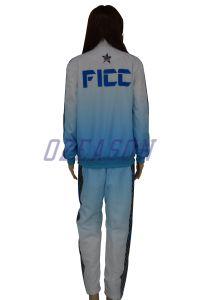 OEM Fashion Design Slim Fit Women Tracksuit Jogging Suit (TJ007) pictures & photos