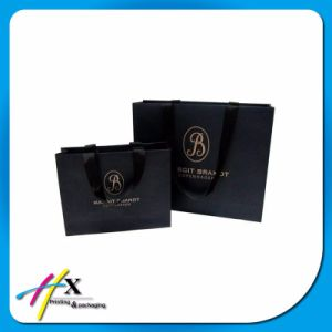 Fashion Custom Printed Paper Gift Bags Christmas Garments/Cosmetic Packaging Bags pictures & photos